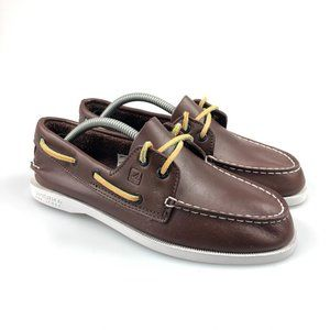Sperry Boys Authentic Original 2 Eye Boat Shoes 4M